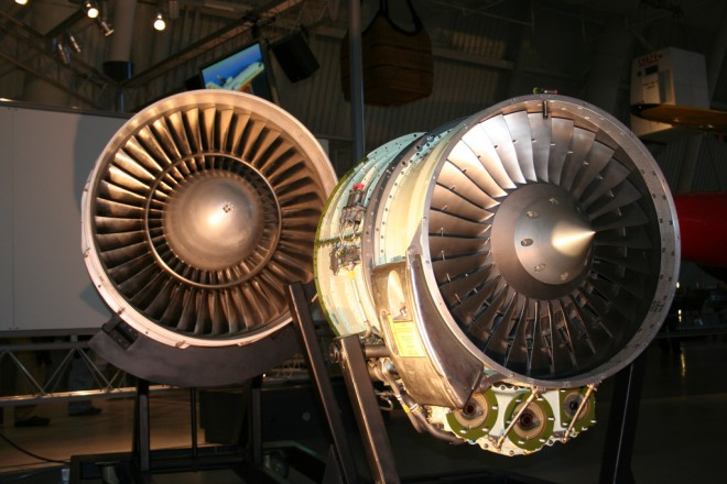 image of two engines