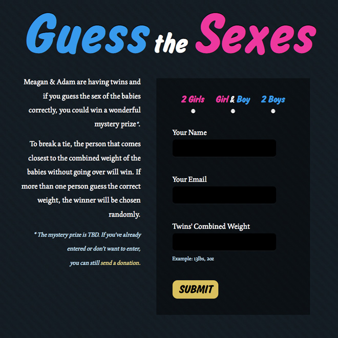 Guess the Sexes